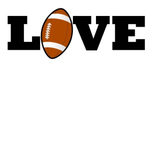 Football Love - iPhone 7 Plus Rubber Case