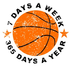 7 Days A Week Basketball - iPhone 7 Plus Rubber Case