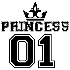 Princess_with_crown_01 - iPhone 7 Plus Rubber Case