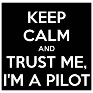 KEEP CALM AND TRUST ME,I'M A PILOT - iPhone 7 Plus Rubber Case