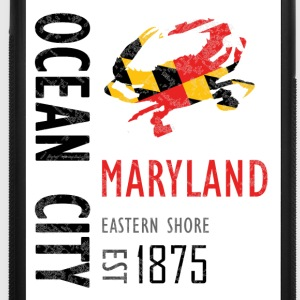 Ocean City Maryland Crab - iPhone 7 Plus Rubber Case