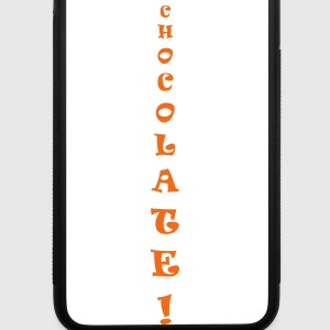 chocolate only - iPhone 7 Plus Rubber Case