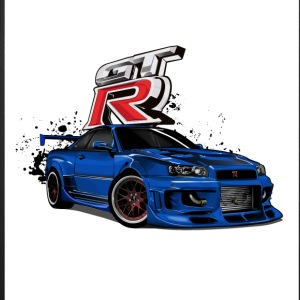 NISSAN GT-R R34 - iPhone 7 Plus Rubber Case