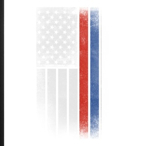 Russian American Flag - Half Russian Half American - iPhone 7 Plus Rubber Case