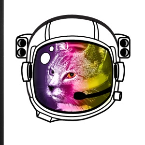 astronaut rainbow cat kitty sci-fi space helmet Lo - iPhone 7 Plus Rubber Case