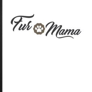 Fur Mama Cute Pet Owner Tee Shirt - iPhone 7 Plus Rubber Case