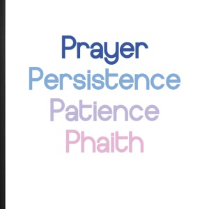Prayer Persistence Patience Phaith - iPhone 7 Plus Rubber Case