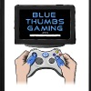 Blue Thumbs Gaming: Gamepad Logo - iPhone 7 Plus Rubber Case