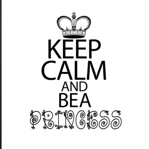 Keep Calm And Be A Princess - iPhone 7 Plus Rubber Case