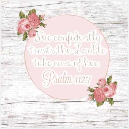Psalm 112:7 - Women's Relaxed Fit T-Shirt