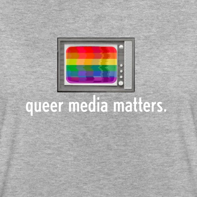 Queer Media Logo in Expanded Sizes
