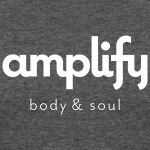 amplify logo - Women's 50/50 T-Shirt