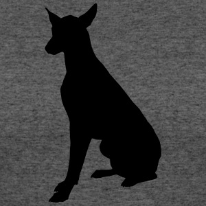 Vector dog Silhouette - Women's 50/50 T-Shirt