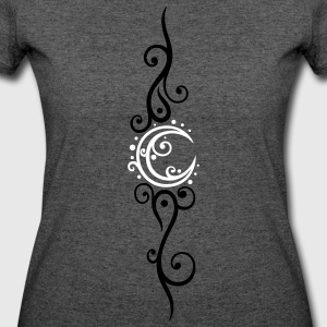 Filigree moon with stars. - Women's 50/50 T-Shirt