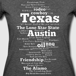 Texas (US state, The Lone Star State) - Women's 50/50 T-Shirt