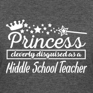 Middle School Teacher - Women's 50/50 T-Shirt