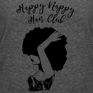 Happy Nappy Hair Club Premium Tee - Women's 50/50 T-Shirt