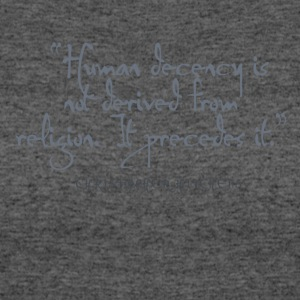 HitchHumanDecency - Women's 50/50 T-Shirt