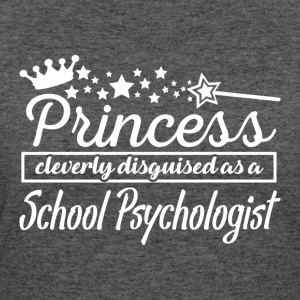 School Psychologist - Women's 50/50 T-Shirt