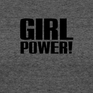 Girl Power Logo Black - Women's 50/50 T-Shirt