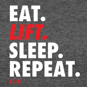 Eat Lift Sleep Repeat - Women's 50/50 T-Shirt