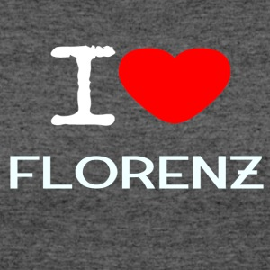 I LOVE FLORENZ - Women's 50/50 T-Shirt