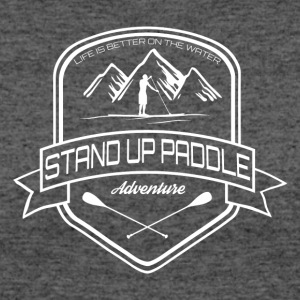 Stand Up Paddle Adventure - men white - Women's 50/50 T-Shirt
