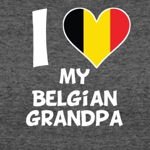 I Heart My Belgian Grandpa - Women's 50/50 T-Shirt