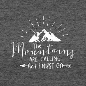 Mountains are calling - Women's 50/50 T-Shirt