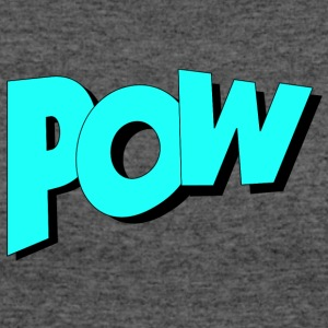 Pow in Comic Style - Women's 50/50 T-Shirt