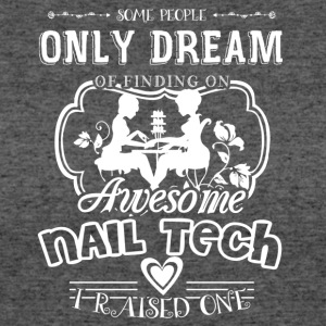 Awesome Nail Tech Shirt - Women's 50/50 T-Shirt