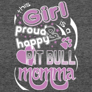 Proud Pitbull Mom Pitbull Momma T Shirt - Women's 50/50 T-Shirt