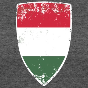 Flag of Hungary - Women's 50/50 T-Shirt