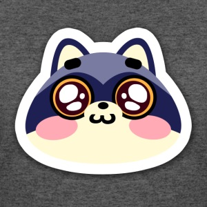 raccoon smile - Women's 50/50 T-Shirt