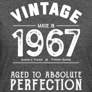 Funny 50th Birthday Present: Vintage 1967 T-Shirt - Women's 50/50 T-Shirt