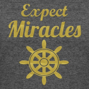 Expect Miracles - Women's 50/50 T-Shirt