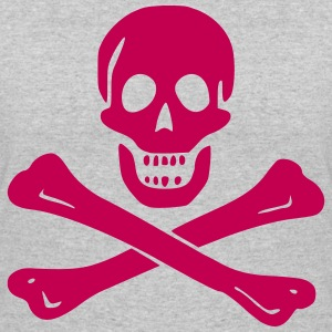 Skull and Crossbones - Women's 50/50 T-Shirt