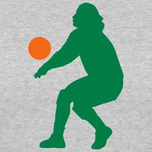 Volleyball silhouette - Women's 50/50 T-Shirt