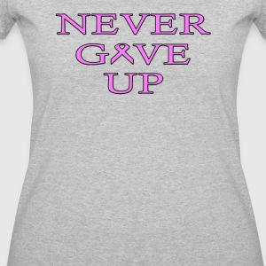 Never Give UP BC - Women's 50/50 T-Shirt