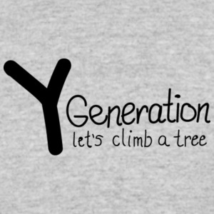 Generation Y - let's climb a tree - Women's 50/50 T-Shirt