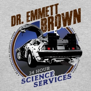 Dr. Emmett Brown Science Services - Women's 50/50 T-Shirt
