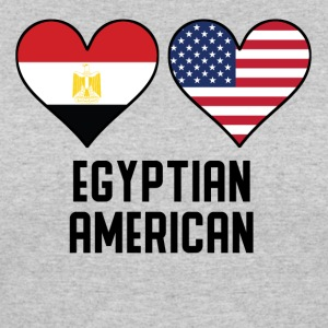 Egyptian American Heart Flags - Women's 50/50 T-Shirt
