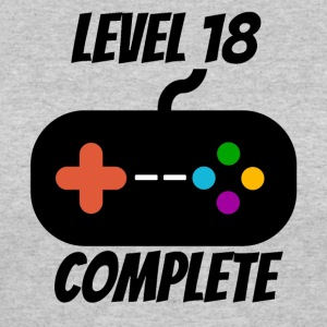 Level 18 Complete 18th Birthday - Women's 50/50 T-Shirt