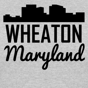 Wheaton Maryland Skyline - Women's 50/50 T-Shirt
