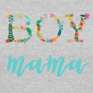 Floral Boy Mama - Women's 50/50 T-Shirt