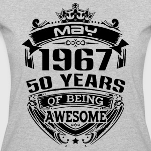 may 1967 50 years - Women's 50/50 T-Shirt