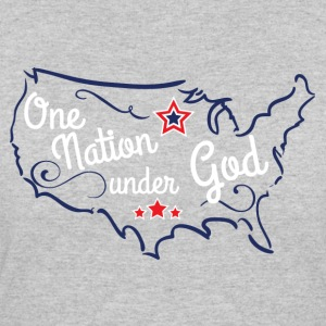 One Nation Under God - Women's 50/50 T-Shirt