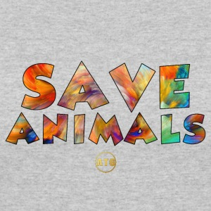 Save Animals by ATG - Women's 50/50 T-Shirt