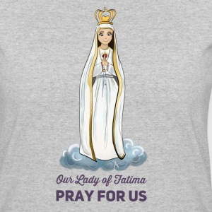 Our lady of Fatima - Women's 50/50 T-Shirt