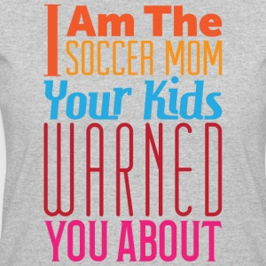 Soccer Mom Warning - Women's 50/50 T-Shirt